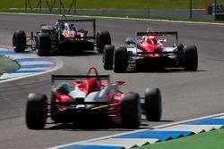 F3 Cars into the Sachs Kurve