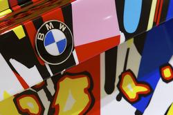 BMW Art Car presentation, Pompidou Center, Paris: the 17th BMW art car detail