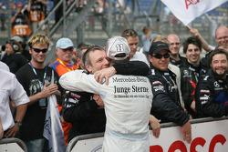 Derde plaats Jamie Green, Persson Motorsport AMG Mercedes C-Klasse