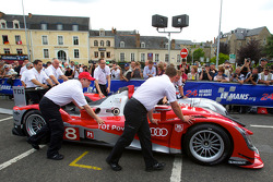 #8 Audi Sport Team Joest Audi R15 at scrutineering