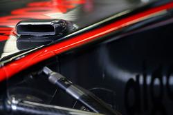 McLaren Mercedes F-duct détail