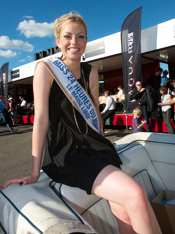 The lovely Miss 24 Hours of Le Mans