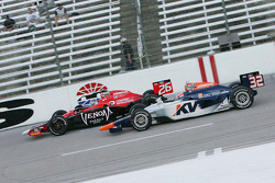 Marco Andretti, Andretti Autosport and Mario Moraes, KV Racing Technology