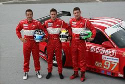 #97 BMS Scuderia Italia Porsche 911 GT3 RSR: Marco Holzer, Richard Westbrook, Timo Scheider