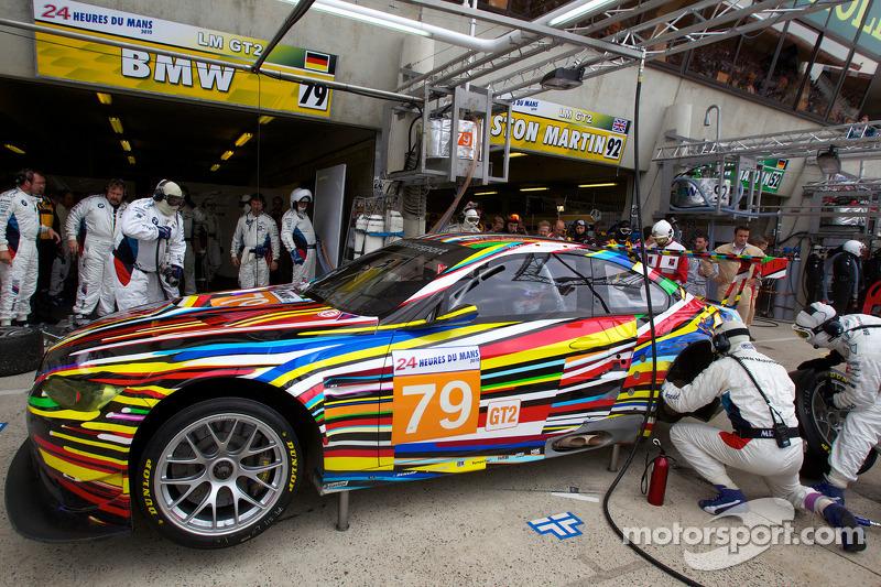 Pitstop #79 BMW Motorsport BMW M3: Andy Priaulx, Dirk Müller, Dirk Werner