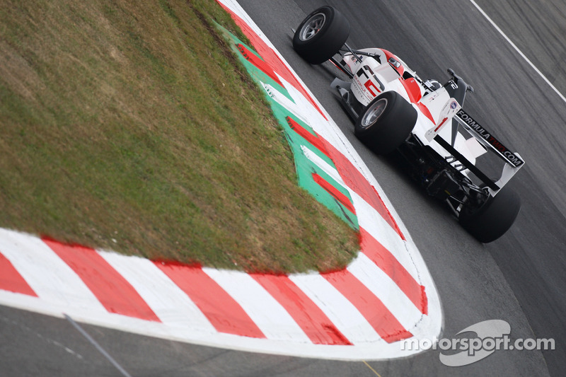 Steven Kane Formule 2 testrijder
