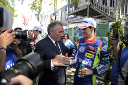 François Bayrou, Major of Pau since april 2014, former candidate in presidential elections 2002, 2007, 2012, Alessio Lorandi  Carlin Dallara F312 – Volkswagen
