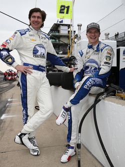 J.R. Hildebrand, Ed Carpenter Racing, Josef Newgarden, Ed Carpenter Racing Chevrolet
