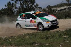 Дамиано де Томмасо и Паоло Рокка, Peugeot 208 R2
