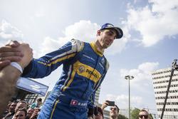Sébastien Buemi, Renault e.Dams, il vincitore della gara