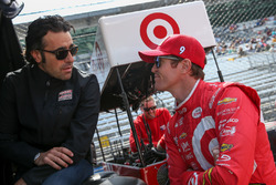Dario Franchitti and Scott Dixon, Chip Ganassi Racing Chevrolet