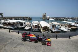 La Red Bull RB7 in Jbeil, Libano