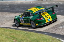 #58 9und11 Racing, Porsche 991 GT3 Cup: Georg Goder, Martin Schlüter, Tim Scheerbarth, Dirk Leßmeister