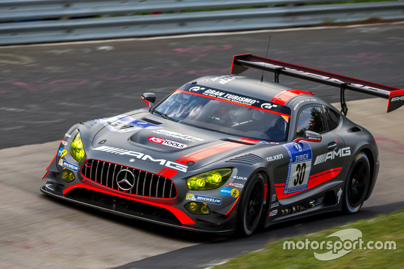 11. #30 AMG-Team HTP Motorsport, Mercedes-AMG GT3