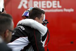 #9 AMG-Team Black Falcon, Mercedes-AMG GT3: Maro Engel and Dirk Müller