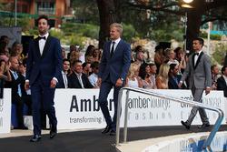 Даніель Ріккардо, Red Bull Racing та Маркус Ерікссон, Sauber F1 Team під час Amber Lounge Fashion Show