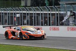 Sieger, Rennen 1: #60 TEKNO Autosport McLaren 650S GT3: Nathan Morcom