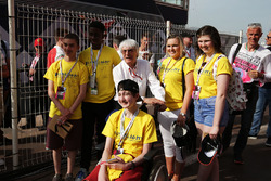 Bernie Ecclestone, with Starlight children
