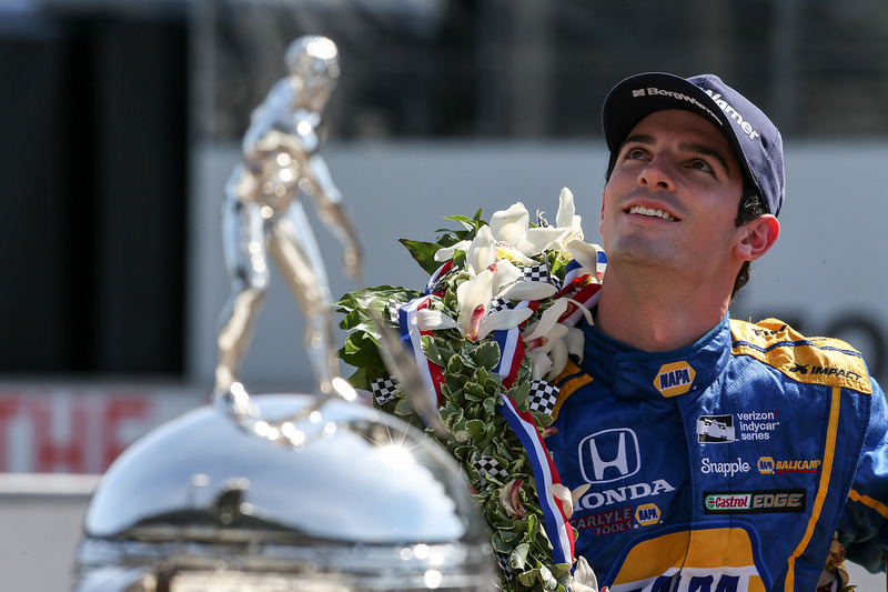 Победитель гонки - Александр Росси, Herta - Andretti Autosport Honda
