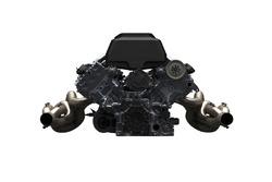 Un motore V8 LMP2
