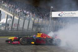 Max Verstappen, Red Bull Racing, geeft demonstratie