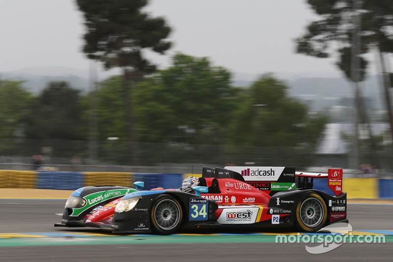 19. LMP2: #34 Race Performance, Oreca 03R - Judd