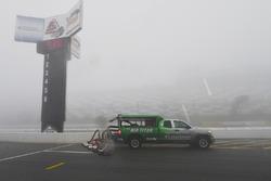 Air-Titan im Regen auf dem Pocono Raceway