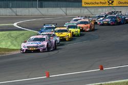 Start, Lucas Auer, Mercedes-AMG Team Mücke, Mercedes-AMG C63 DTM