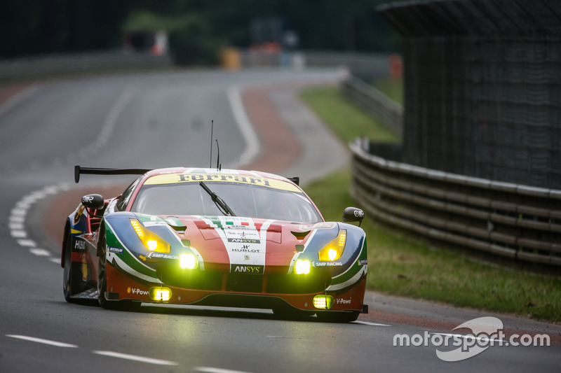 LMGTE Pro: #71 AF Corse, Ferrari 488 GTE