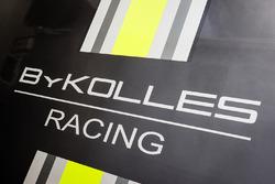 ByKolles Racing paddock area and logo