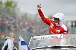 Кімі Райкконен, Ferrari на параді пілотів
