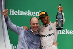 Primo posto per Lewis Hamilton, Mercedes AMG F1 W07
