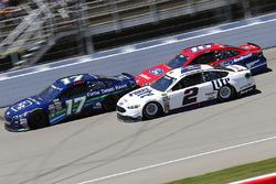 Ricky Stenhouse Jr., Roush Fenway Racing Ford, Brad Keselowski, Team Penske Ford, Greg Biffle, Roush Fenway Racing Ford