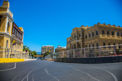 Baku, la curva 15 del circuito cittadino