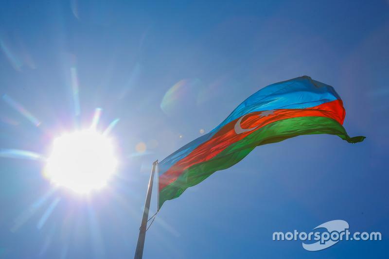 La bandiera dell'Azerbaijan