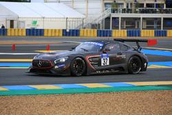 #37 IDEC Sport Racing, Mercedes-AMG GT3: Patrice Lafargue, Paul Lafargue