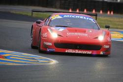 Седрик мезар, Стив Хиссе, #8 Scuderia Villorba Corse Ferrari 458 Italia GT3