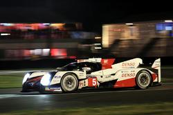 #5 Toyota Racing Toyota TS050 Hybrid : Anthony Davidson, Sébastien Buemi, Kazuki Nakajima