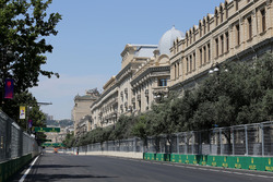 Ambiance du circuit de Bakou