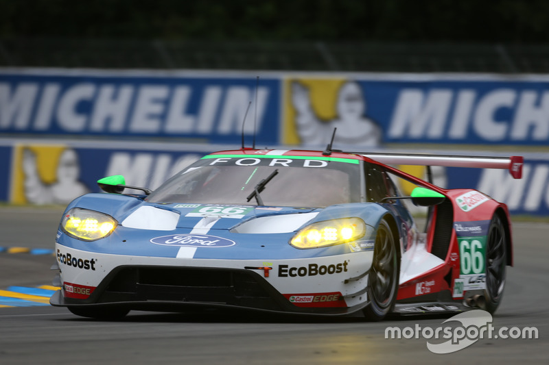 38: #66 Ford Chip Ganassi Racing Ford GT: Olivier Pla, Stefan Mücke, Billy Johnson
