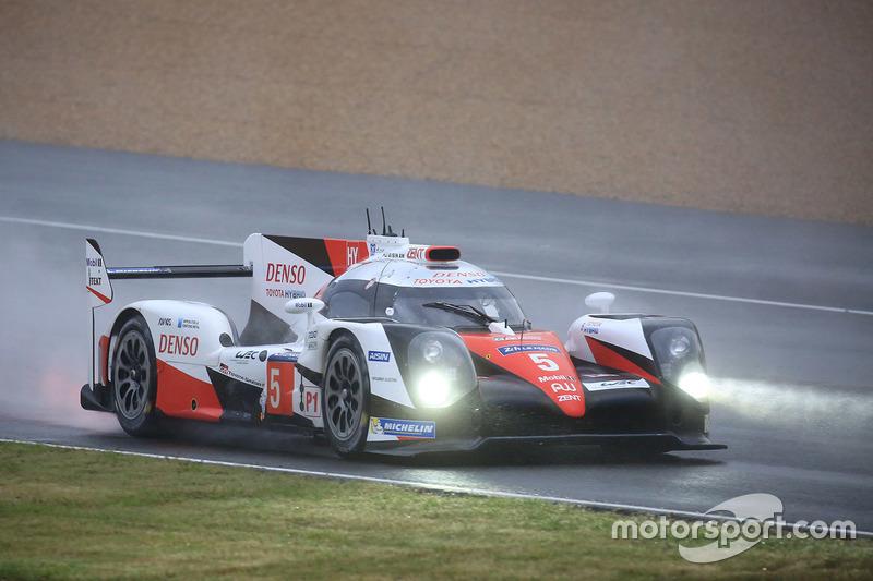 4: #5 Toyota Racing Toyota TS050 Hybrid: Anthony Davidson, Sébastien Buemi, Kazuki Nakajima