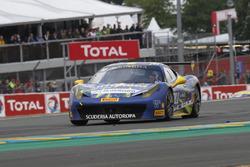 #10 Scuderia Autoropa, Ferrari 458 Challenge Evo: Henrik Hedman