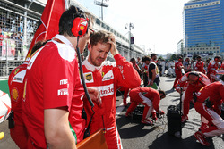 Себастьян Феттель, Ferrari на стартовій решітці