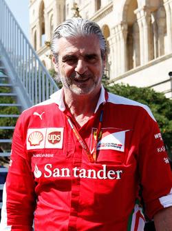 Maurizio Arrivabene, Ferrari