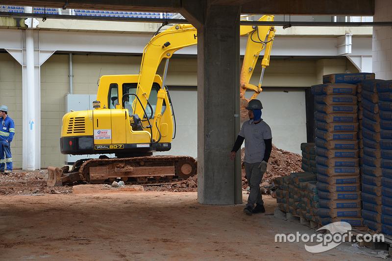 Obras en Interlagos