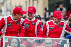 #82 Risi Competizione Ferrari 488 GTE: Toni Vilander, Matteo Malucelli, Giancarlo Fisichella