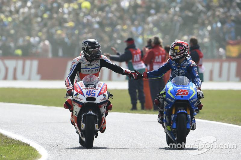 Scott Redding, Pramac Racing e Maverick Viñales, Team Suzuki MotoGP
