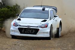 Test Hyundai i20 WRC 2017