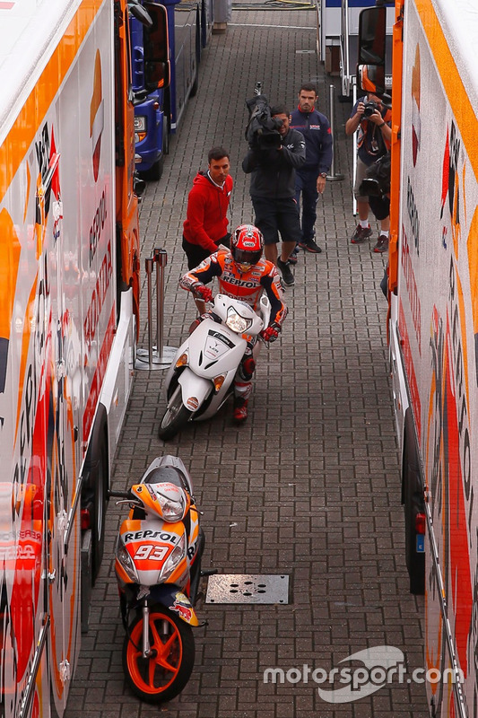 Марк Маркес, кваліфікація Гран Прі Нідерландів