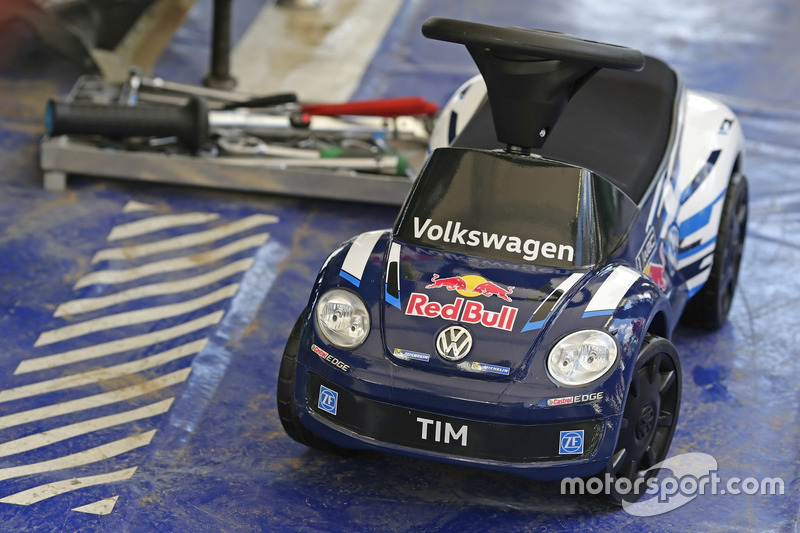 Дитяча машина для Себастьяна Ож'є, Volkswagen Polo WRC, Volkswagen Motorsport